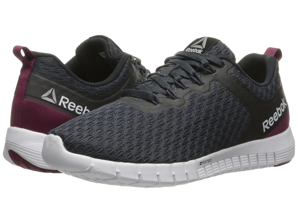 Reebok - Reebok ZQuick Lite (Smokey Black/Rebel Berry/Black/White) Women's Shoes