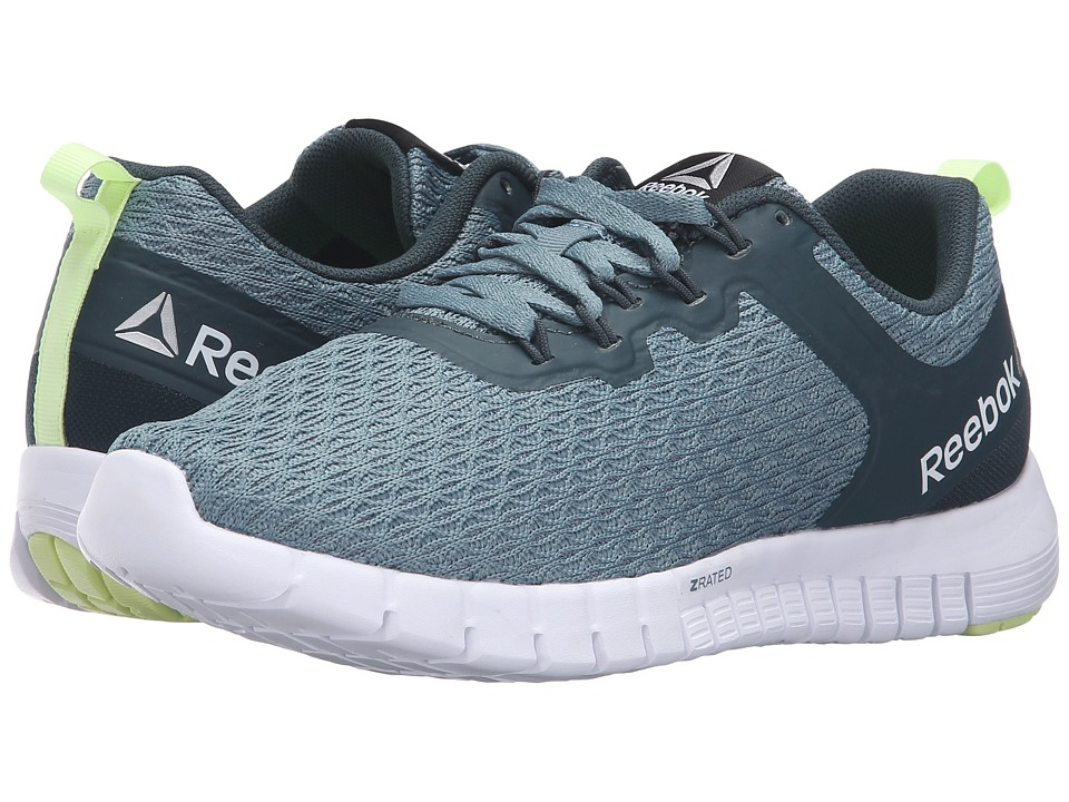 Reebok - Reebok ZQuick Lite (Teal Dust/Forest Grey/White/Lemon Zest) Women's Shoes