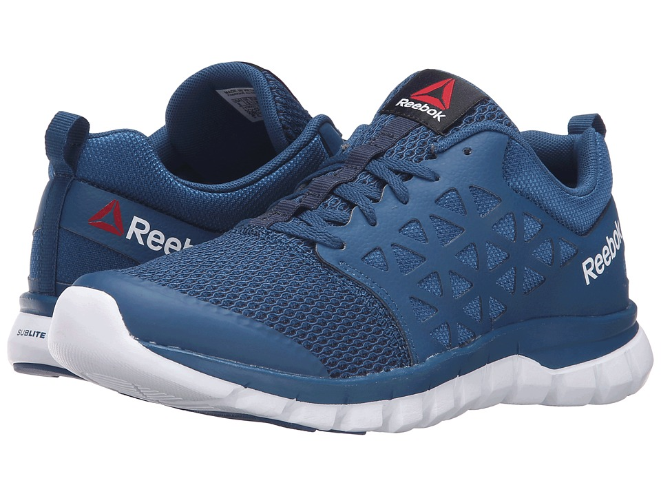 Reebok - Sublite XT Cushion 2.0 MT (Noble Blue/White/Collegiate Navy) Women's Shoes