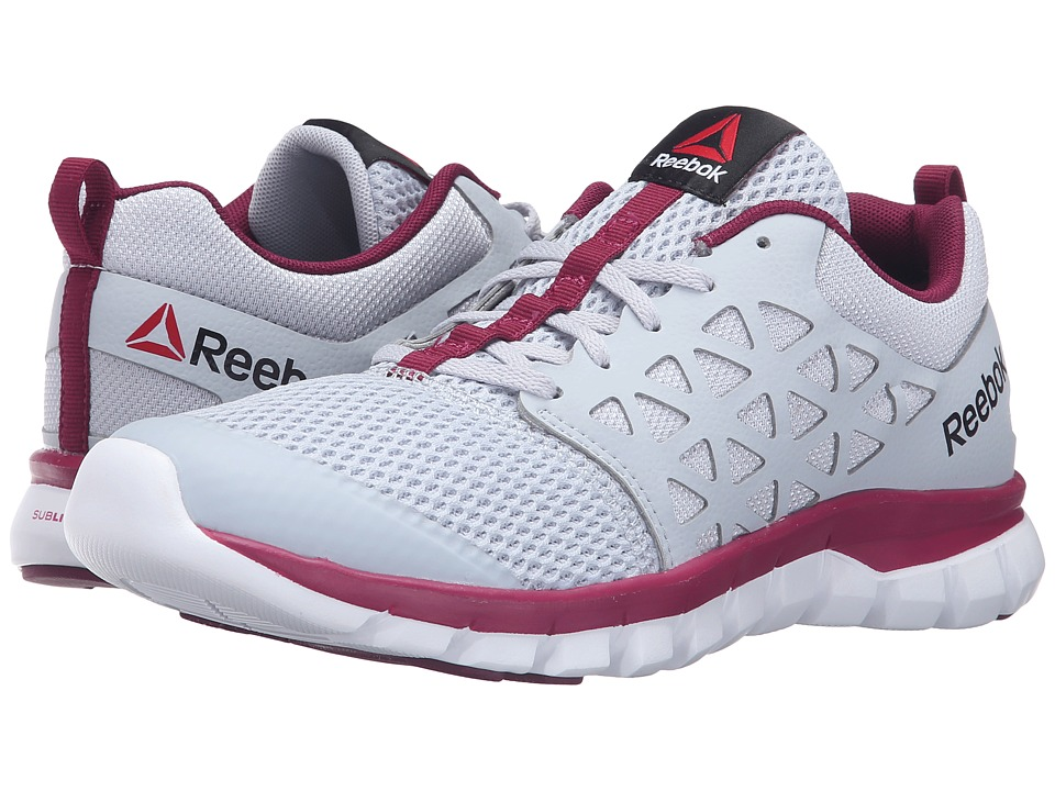 Reebok - Sublite XT Cushion 2.0 MT (Cloud Grey/Rebel Berry/White) Women's Shoes