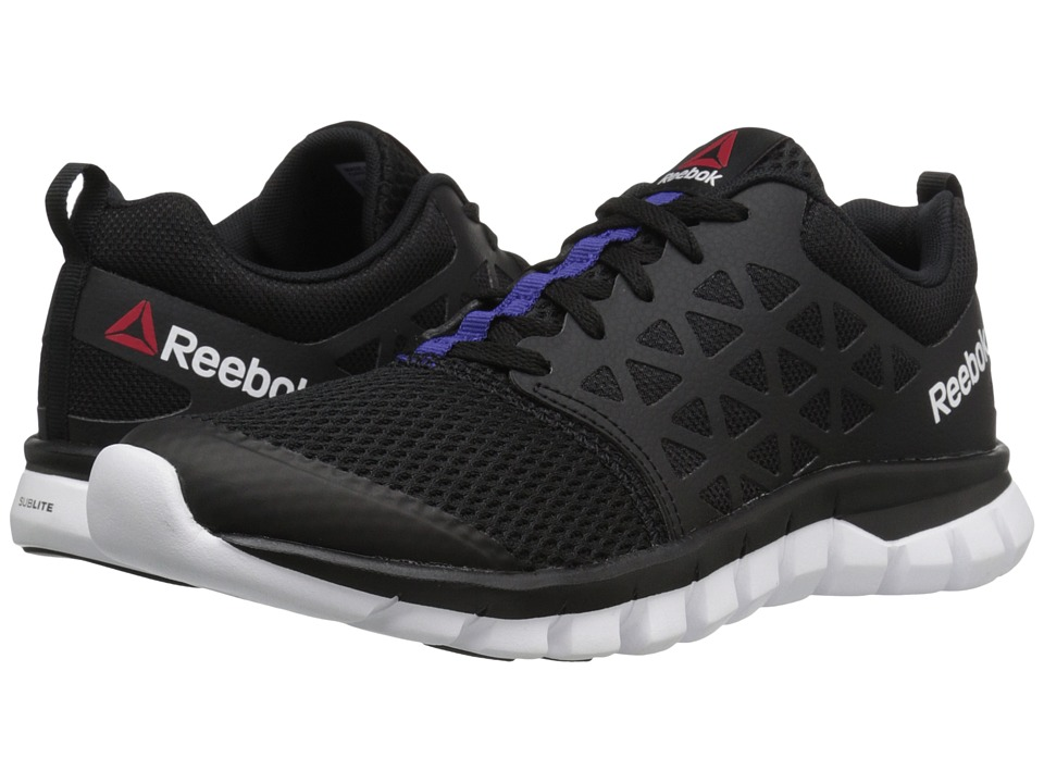 Reebok - Sublite XT Cushion 2.0 MT (Black/Pigment Purple/White) Women's Shoes