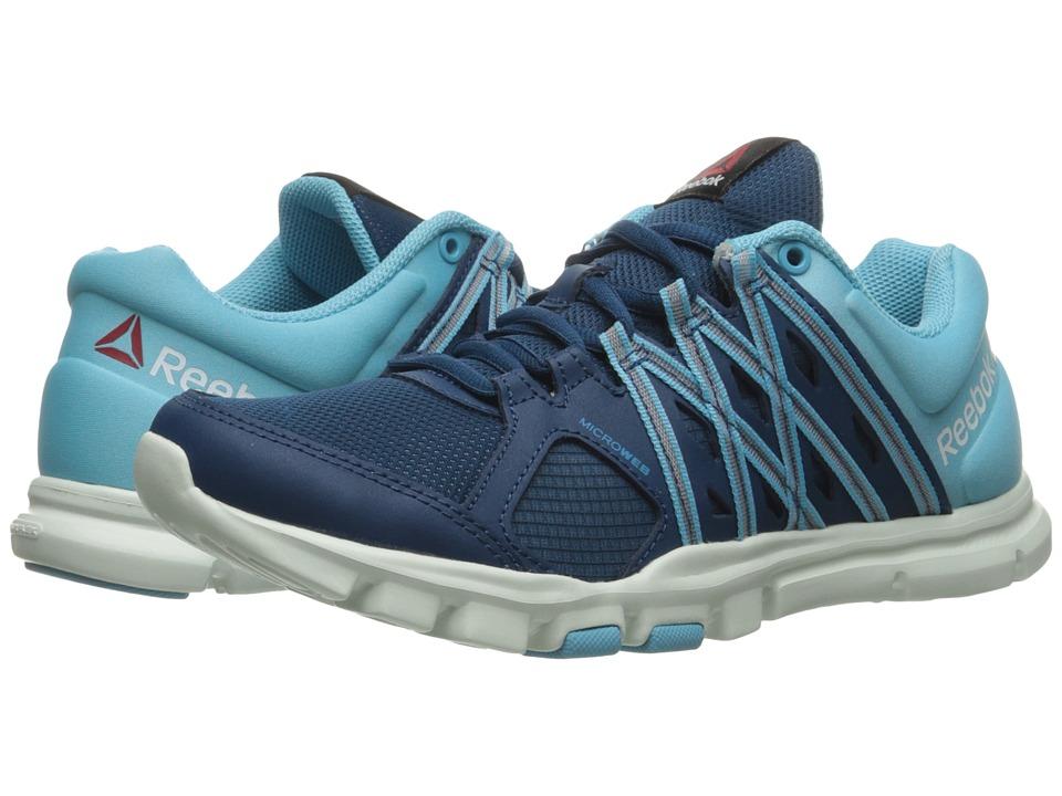 Reebok - YourFlex Trainette 8.0 L MT (Noble Blue/Crisp Blue/Opal/Wild Blue) Women's Cross Training Shoes