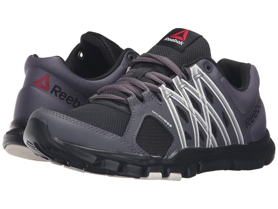 Reebok - YourFlex Trainette 8.0 L MT (Stealth Black/Ash Grey/Chalk) Women's Cross Training Shoes