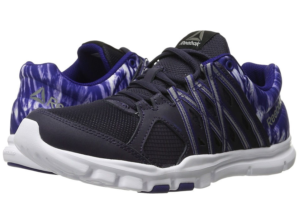Reebok - YourFlex Trainette 8.0 WS PL MT (Purple Delirium/Pigment Purple/White/Primo Purple/Silver) Women's Shoes