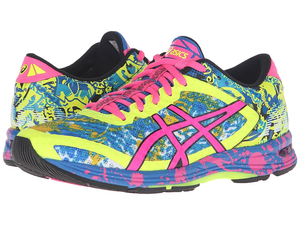 ASICS - Gel-Noosa Tri 11 (Yellow/Pink/Electric Blue) Women's Running Shoes