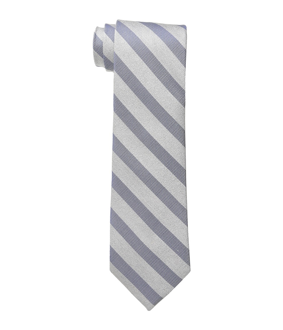 Calvin Klein - Sable Bar Stripe (Navy) Ties