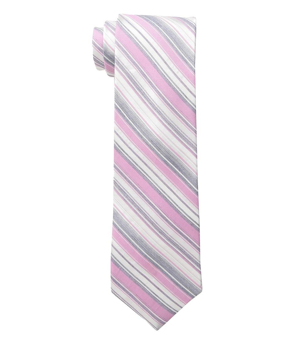 Calvin Klein - Crystal Stripe (Pink) Ties