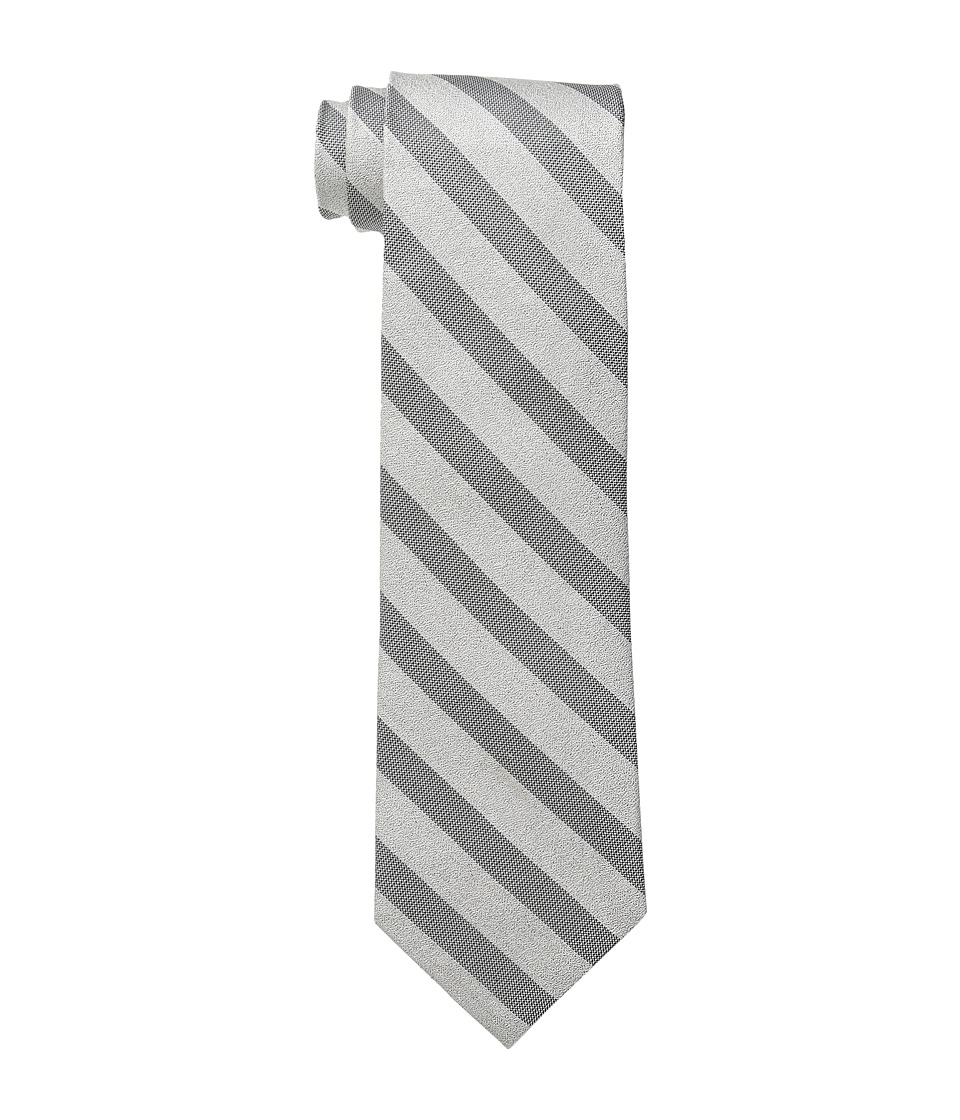Calvin Klein - Sable Bar Stripe (Black) Ties