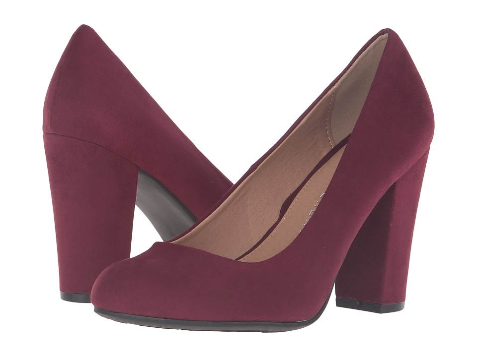 Chinese Laundry Exclusive Z-Happy Hour (Merlot) High Heels