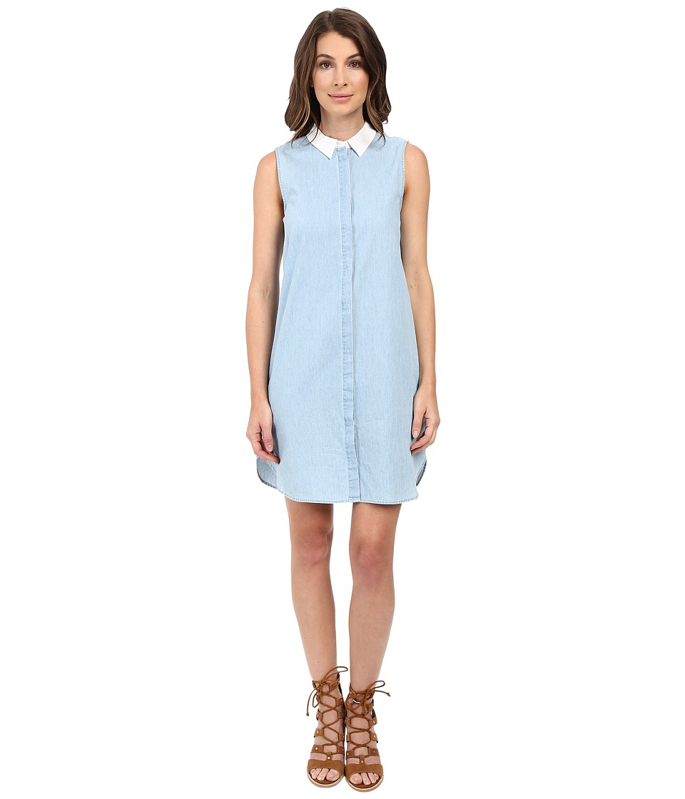 EQUIPMENT - Lanie Dress (Sky Blue) Women's Dress