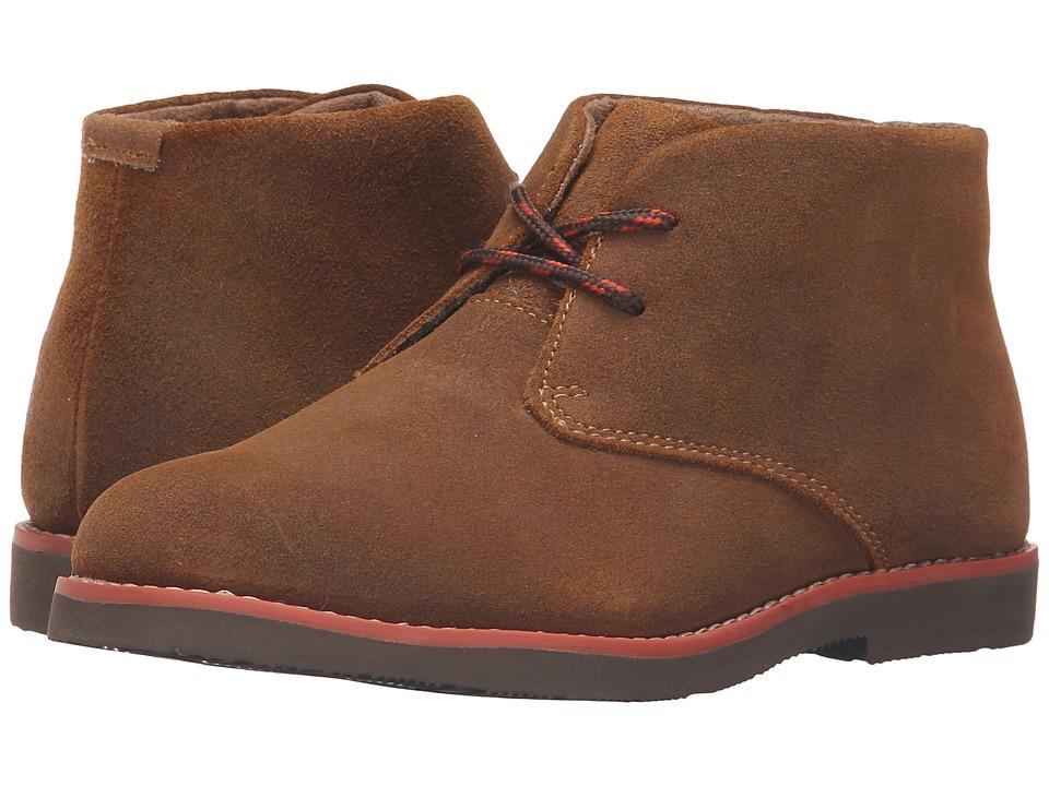 Florsheim Kids - Quinlan Jr. II (Toddler/Little Kid/Big Kid) (Cognac/Dark Brown) Boy's Shoes