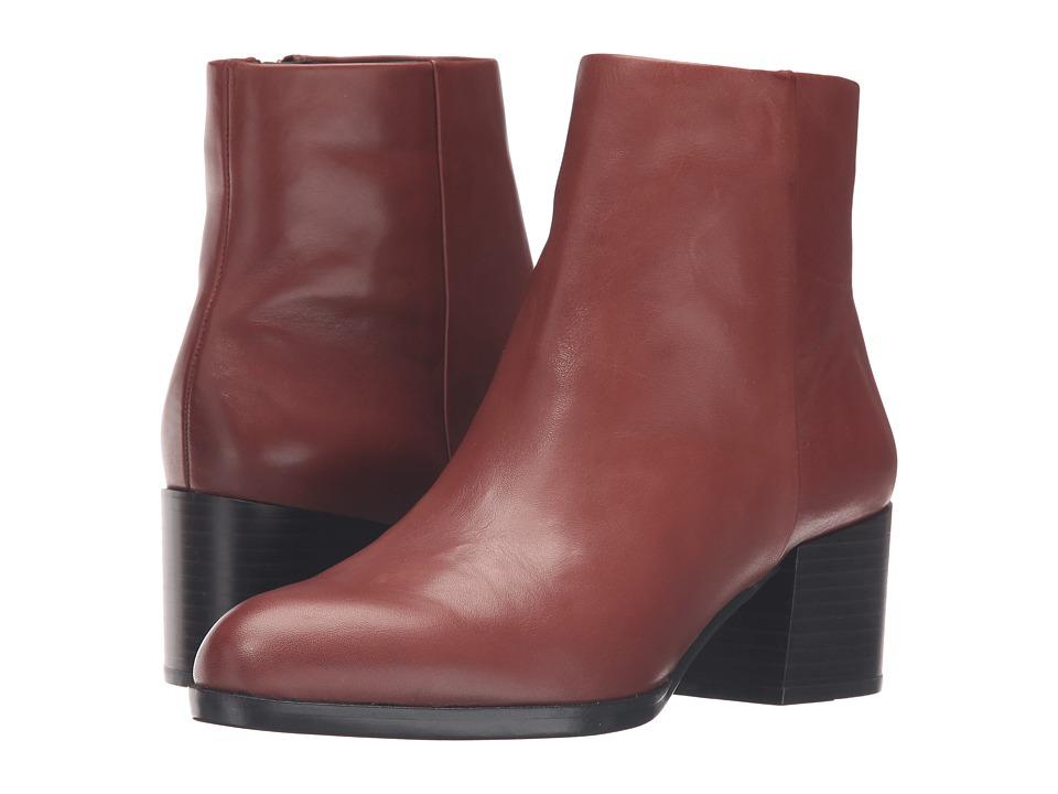 Sam Edelman Joey (Burnt Umber Modena Calf Leather) Women