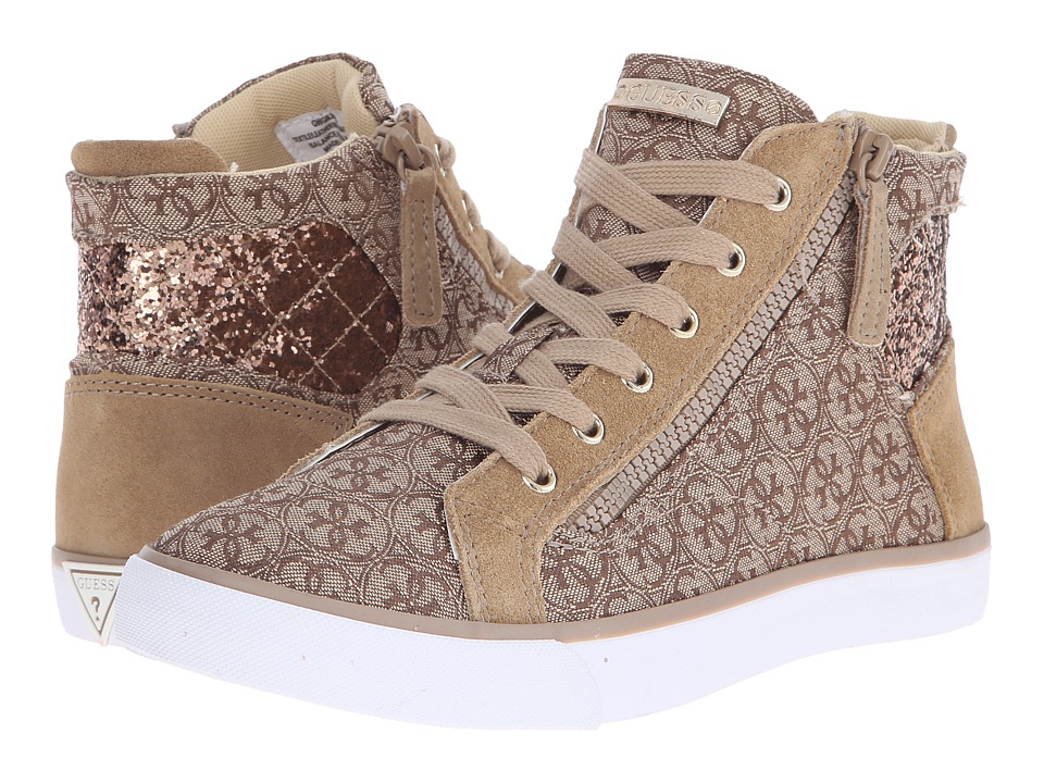 GUESS - Gilby (Natural) Women's Lace up casual Shoes