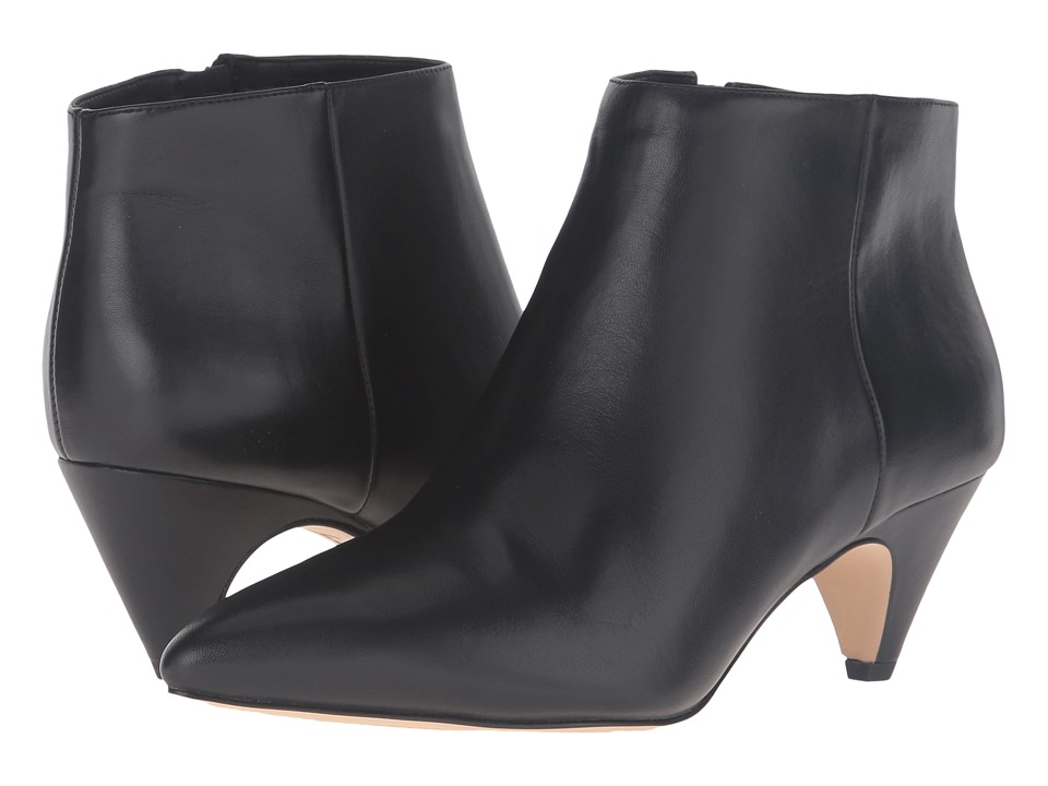 Sam Edelman Lucy Ankle Boot (Black Modena Calf Leather) Women