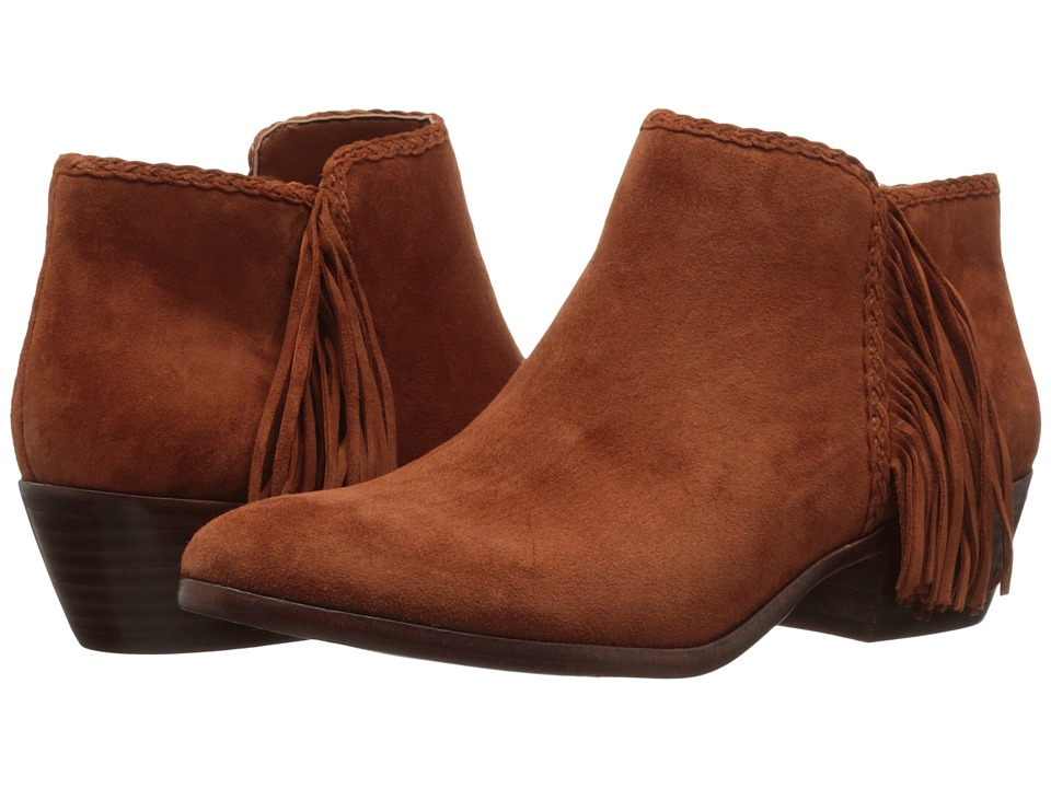 Sam Edelman - Paige (Cinnamon Kid Suede Leather) Women's Zip Boots