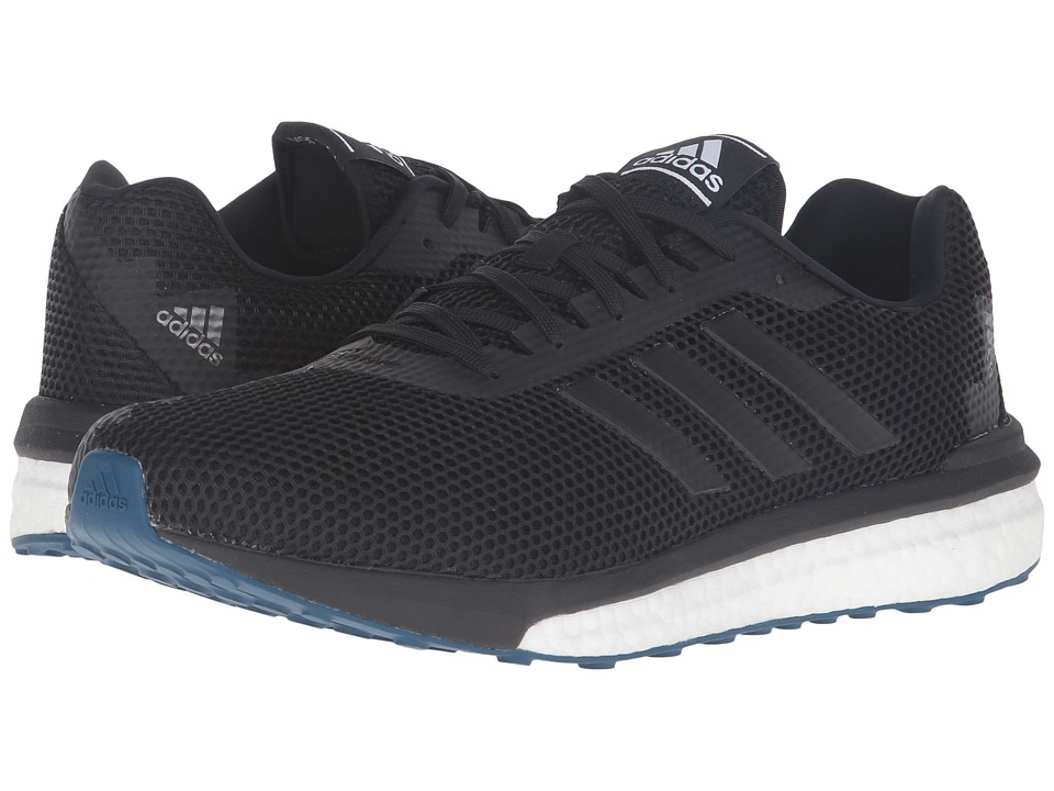 adidas Running - Vengeful (Black/Black/Solar Red) Men's Running Shoes