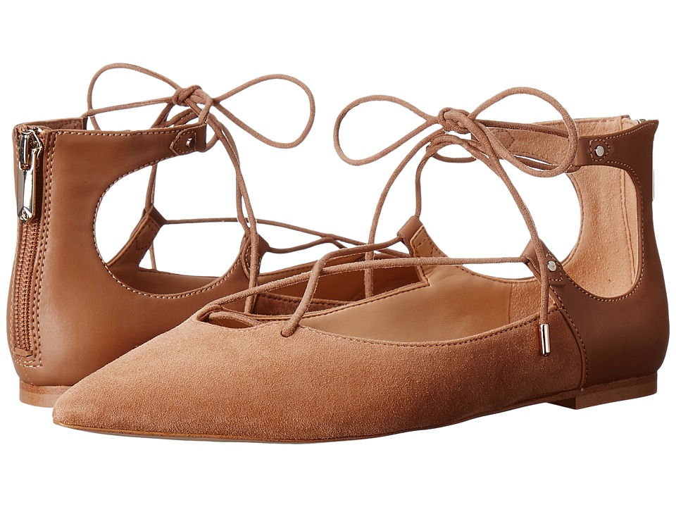 Sam Edelman - Rosie (Golden Caramel Kid Suede leather/Dress Calf Leather) Women's Shoes