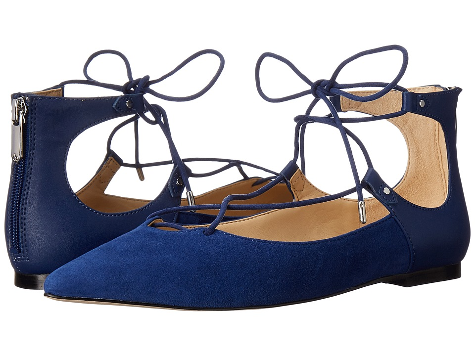 Sam Edelman - Rosie (Bandana Blue Kid Suede leather/Dress Calf Leather) Women's Shoes