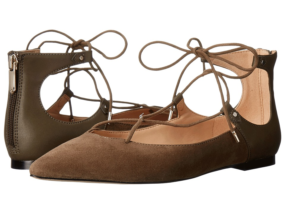 Sam Edelman - Rosie (Moss Green Kid Suede Leather) Women's Shoes