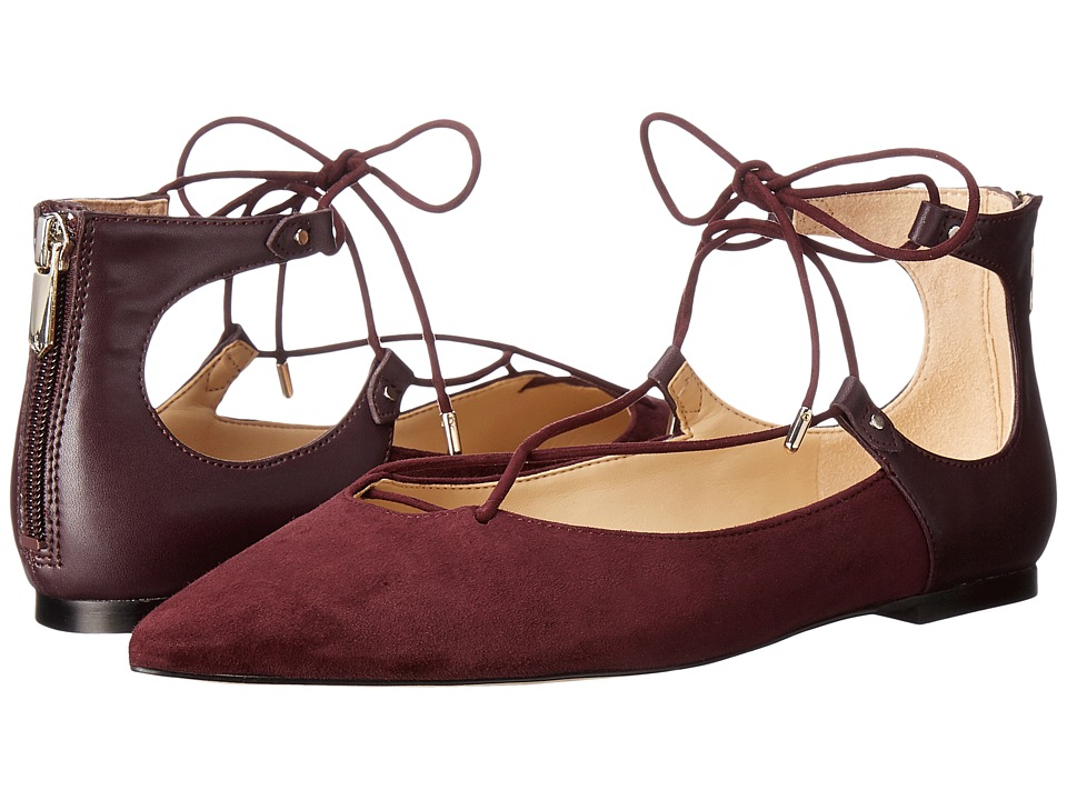 Sam Edelman - Rosie (Port Wine Kid Suede Leather) Women's Shoes