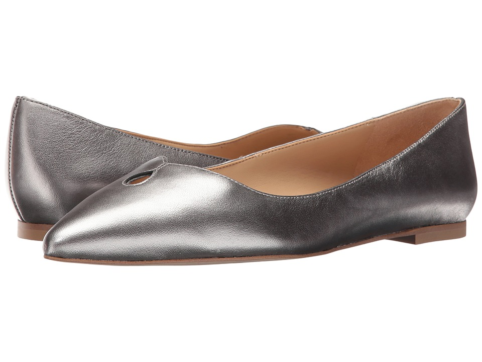 Sam Edelman - Ruby (Pewter Soft Metallic Sheep Leather) Women's Shoes