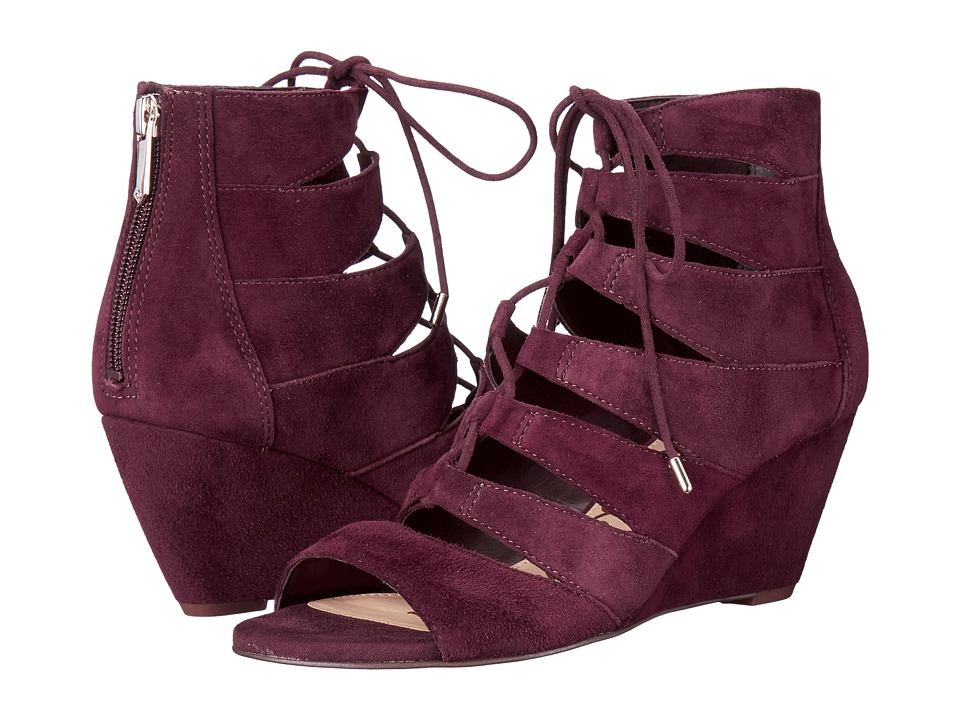 Sam Edelman - Santina (Port Wine Kid Suede Leather) Women