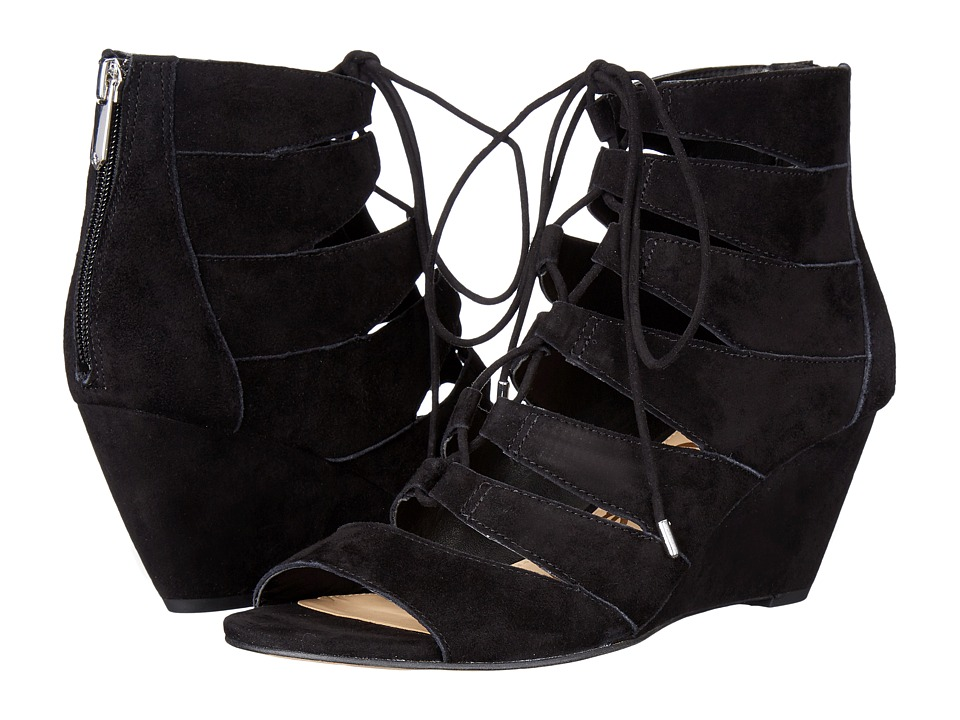 Sam Edelman - Santina (Black Kid Suede Leather) Women's Shoes