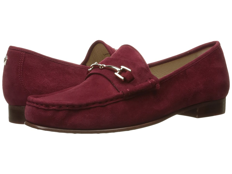 Sam Edelman - Talia (Tango Red Kid Suede Leather) Women's Shoes