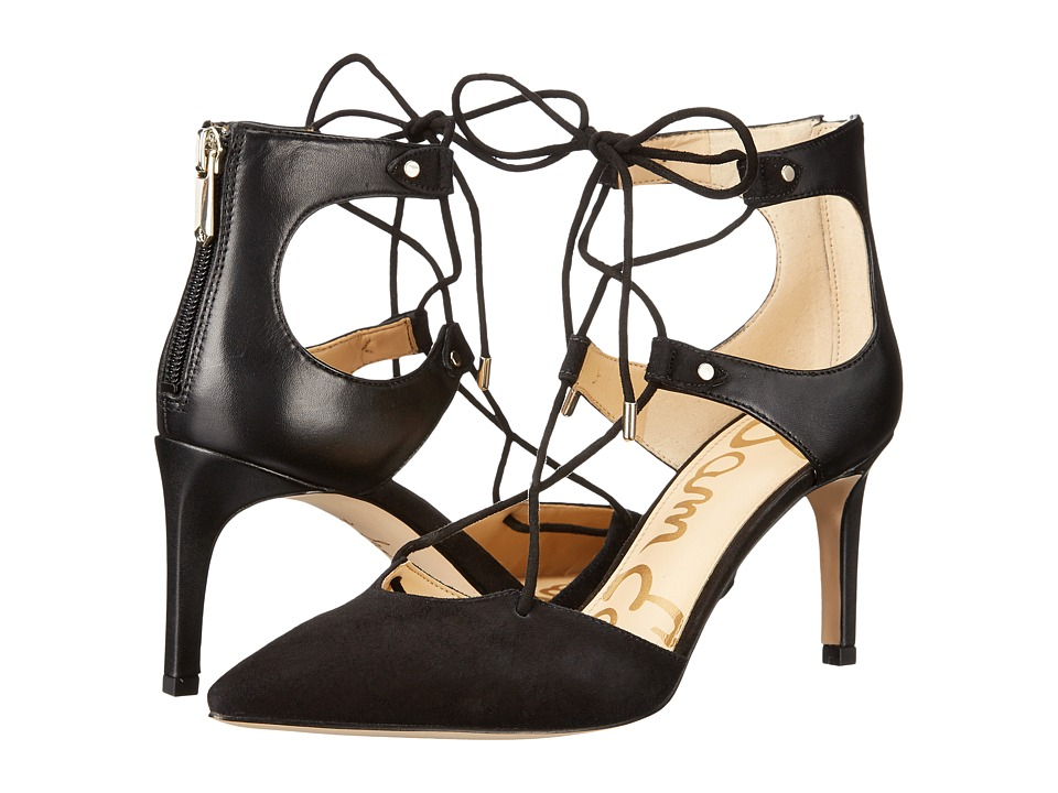 Sam Edelman - Taylor (Black Vaquero/Kid Suede Leather) Women's Shoes