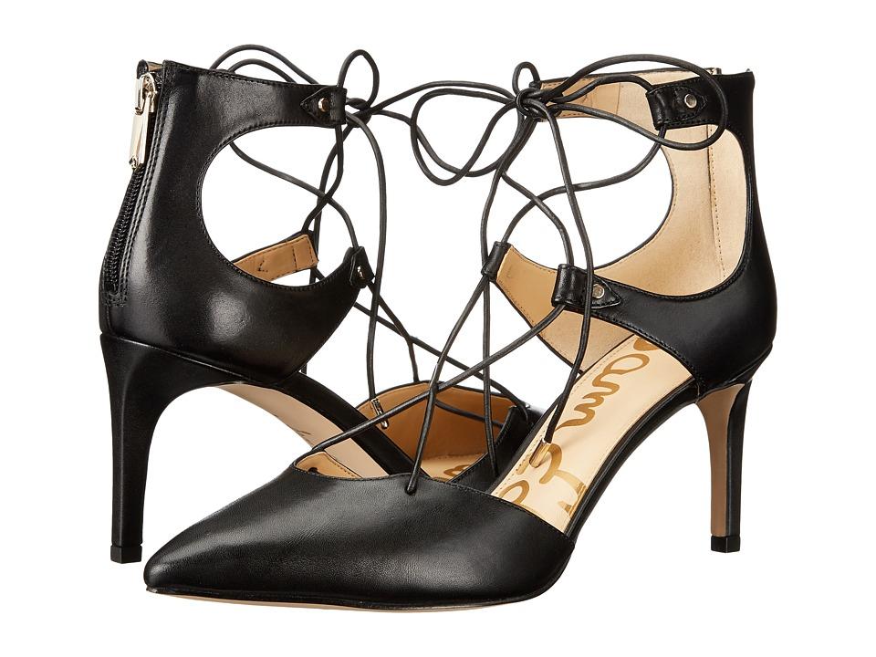 Sam Edelman - Taylor (Black Dress Calf Leather) Women's Shoes