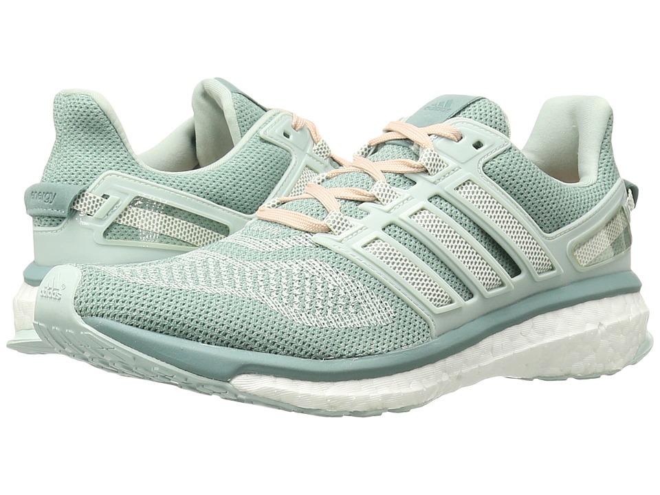 adidas Running Engery Boost 3 (Vapour Green/Chalk White/Vapour Steel) Women
