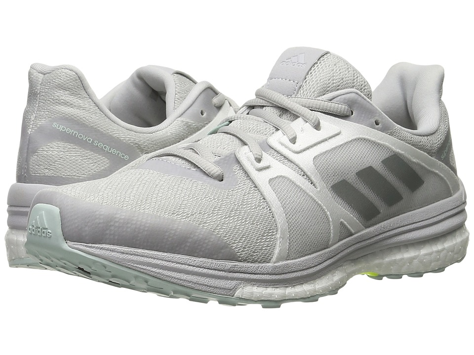 adidas Running - Supernova Sequence 9 (LGH Solid Grey/Matte Silver/White) Women's Running Shoes