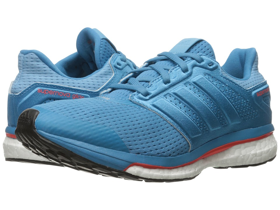 adidas Running Supernova Glide 8 (Craft Blue/Craft Blue/Vapour Steel) Women