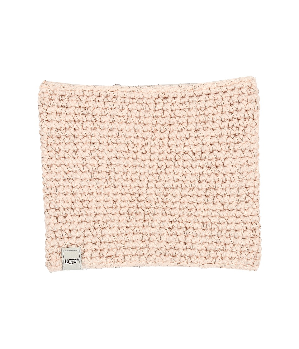 UGG Kids - Crochet Snood (Toddler/Little Kids) (Freshwater Pearl) Hair Accessories