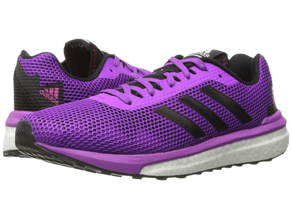 adidas Running Vengeful (Shock Purple/Core Black/Shock Pink) Women