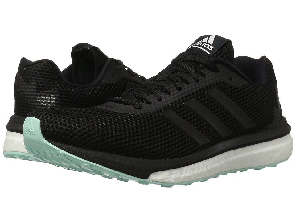 adidas Running - Vengeful (Core Black/Core Black/Ice Green) Women's Running Shoes