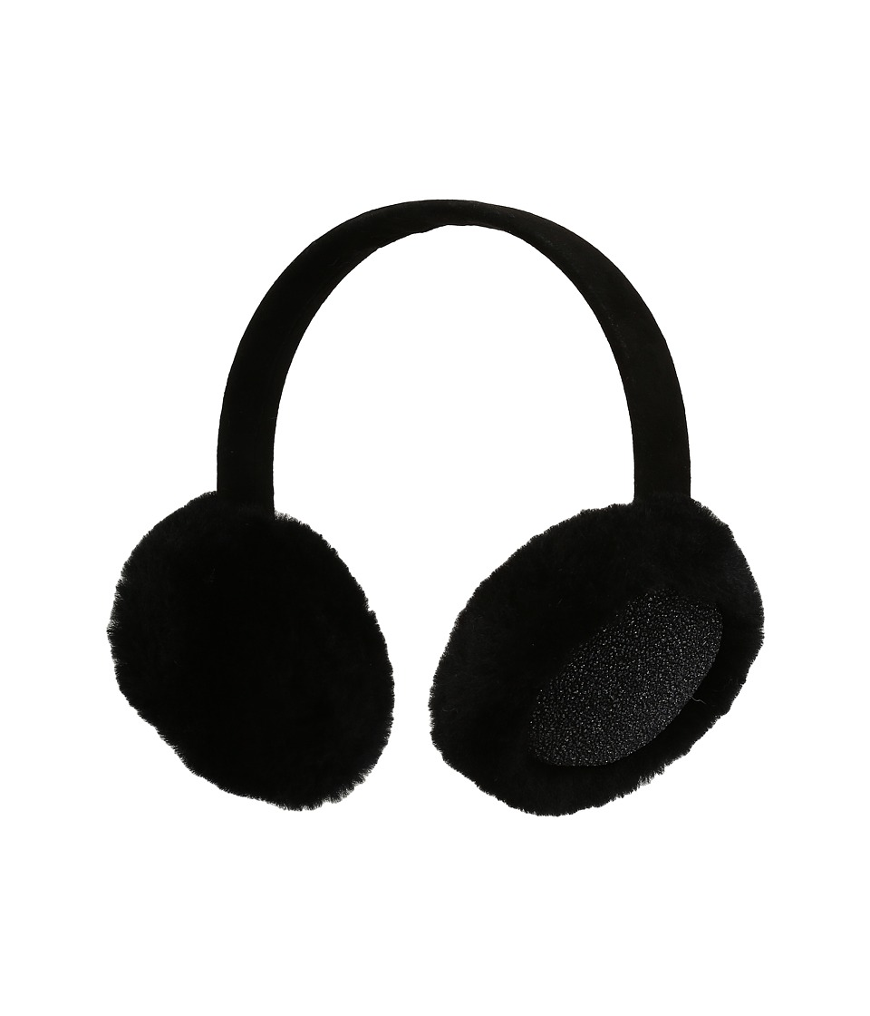 UGG Kids - Glitter Earmuff (Toddler/Little Kids) (Black) Traditional Hats