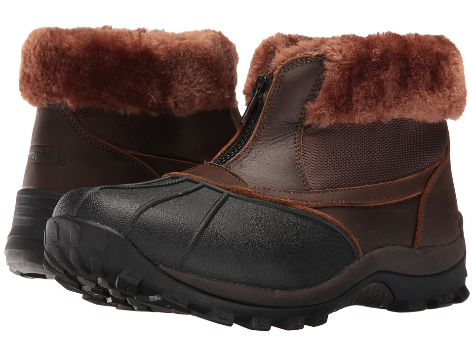 Propet Blizzard Ankle Zip II (Brown/Nylon) Women