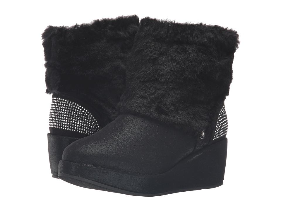 Stuart Weitzman Kids - Gia Fur (Little Kid/Big Kid) (Black) Girl's Shoes