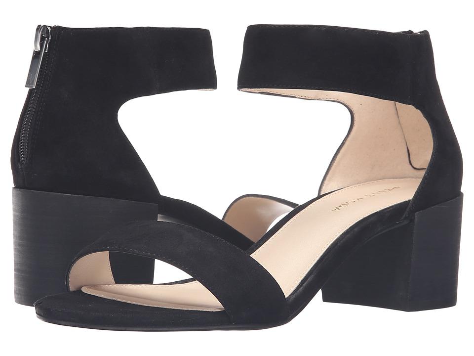 Pelle Moda - Urban (Black Kid Suede) Women's Dress Sandals