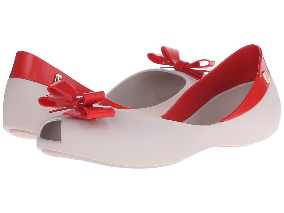 Melissa Shoes Queen (Beige Red) Women