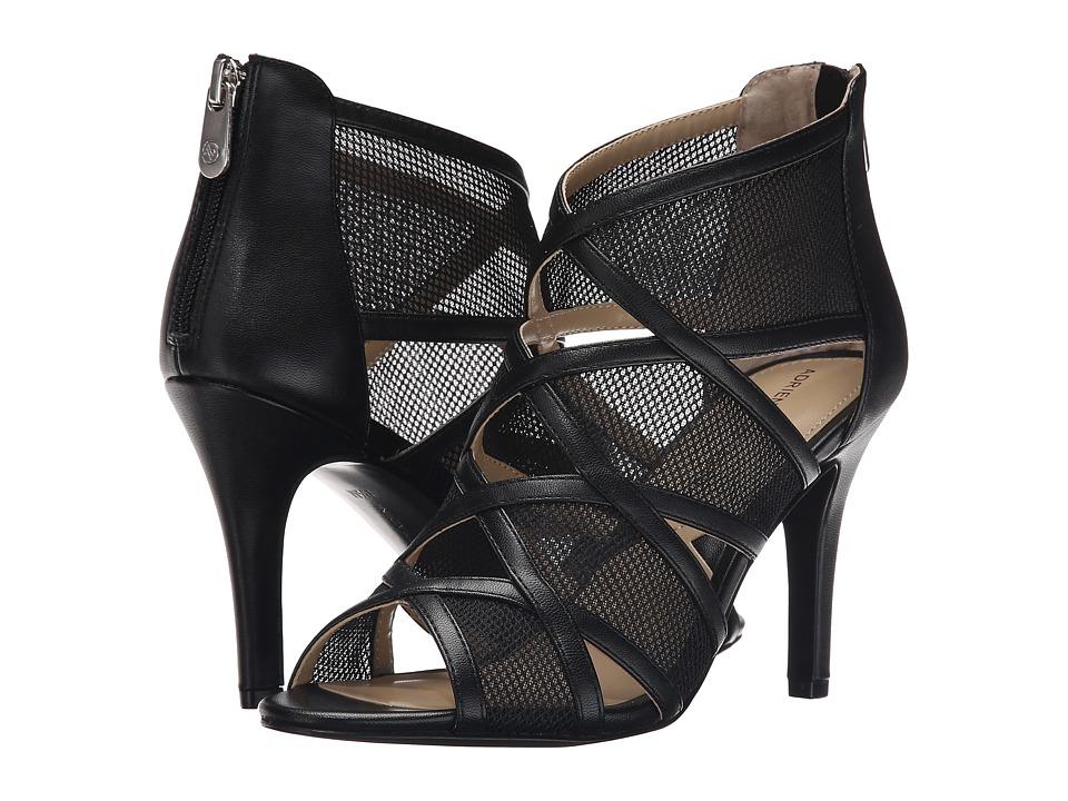 Adrienne Vittadini - Garo (Black Nappa Mesh) High Heels