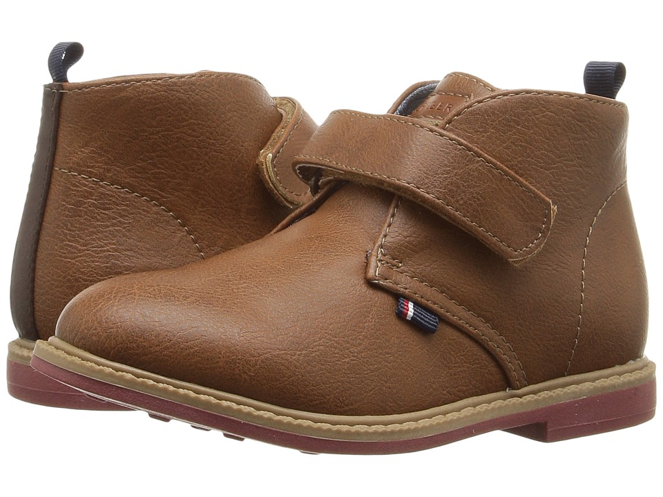 Tommy Hilfiger Kids - Michael HL (Toddler/Little Kid) (Cognac) Boy's Shoes