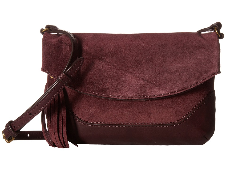 Frye - Paige Small Crossbody (Wine) Top-handle Handbags