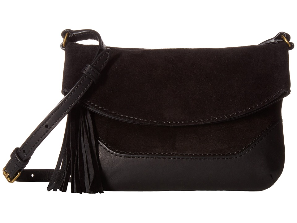 Frye - Paige Small Crossbody (Black) Top-handle Handbags