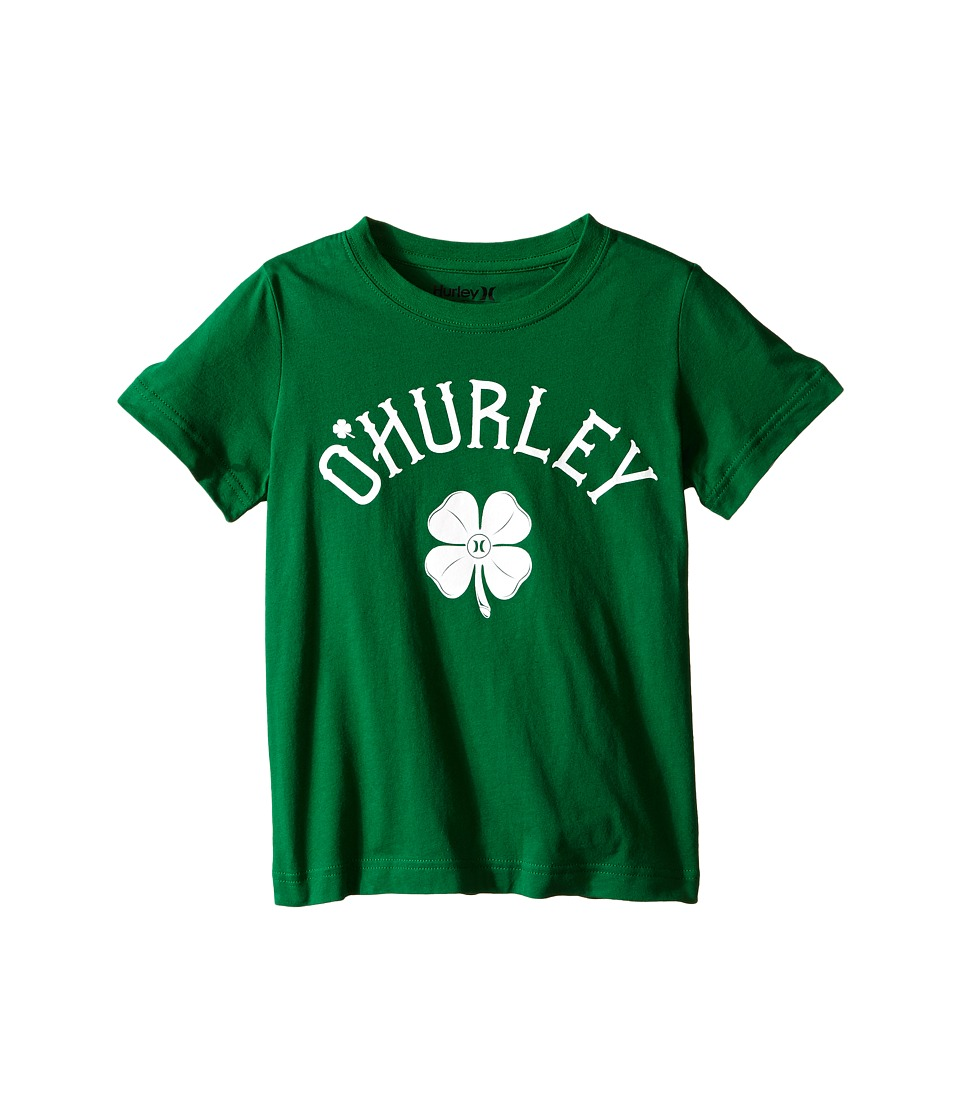 Hurley Kids - Shamrock Ohurley Short Sleeve (Little Kids) (Green) Boy's Short Sleeve Pullover