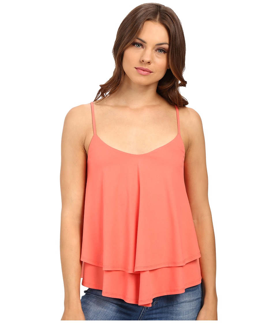 Susana Monaco - Ariane Top (Pink Grapefruit) Women's Sleeveless