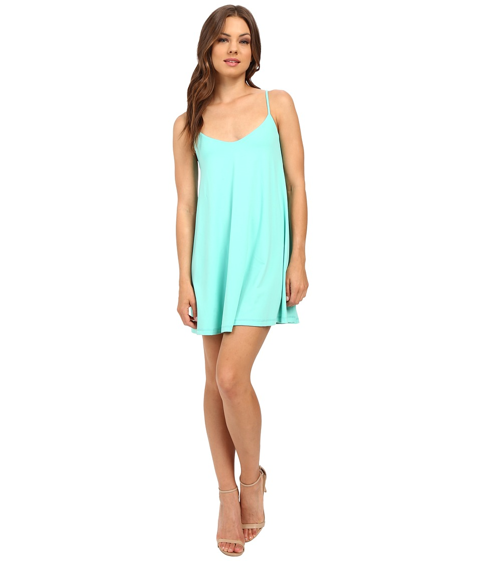 Susana Monaco - Very V Drape Dress (Tulum) Women's Dress