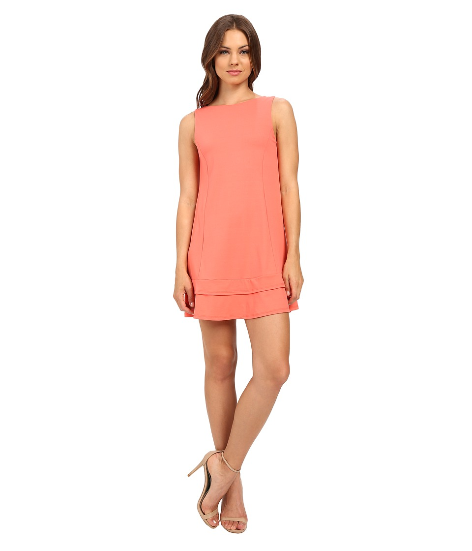 Susana Monaco Vanessa Dress (Pink Grapefruit) Women