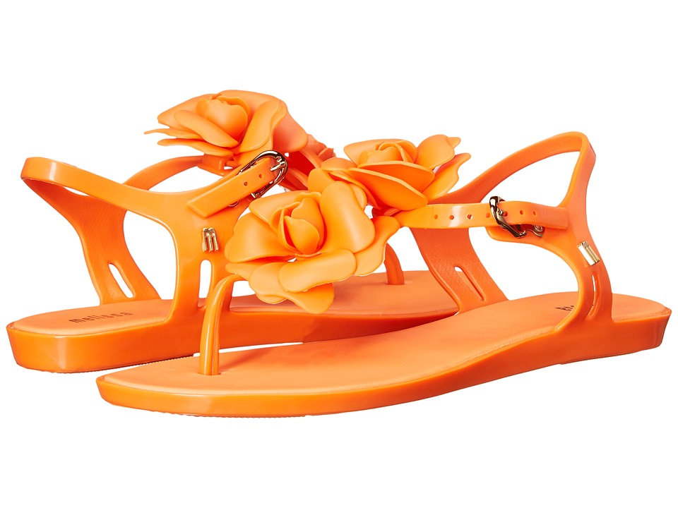 Melissa Shoes - Solar Garden (Orange) Women's Shoes